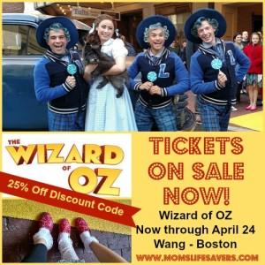 Wizard of OZ Boston Now through April 24