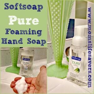 Softsoap Pure Foaming Hand Soap