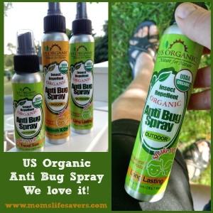 Organic Anti Bug Spray
