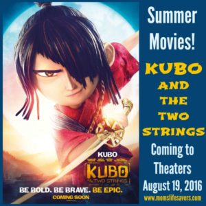 Kubo and the Two Strings In Theaters August 19th