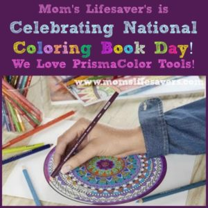 Celebrate National Coloring Book Day with Prismacolor