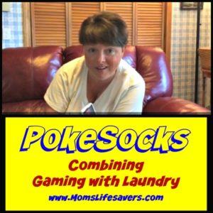 PokeSocks with Mom's Lifesavers