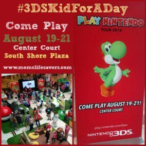 #3DSKidForADay Nintendo Tour 2016