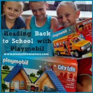 Playmobil City Life School Bus and Take Along School House