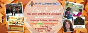 Free Craft at Orange Leaf Newburyport