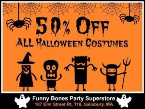 Funny Bones Halloween Sale