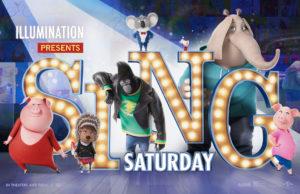 Free Sing Saturday AMC Theater Liberty Tree Mall