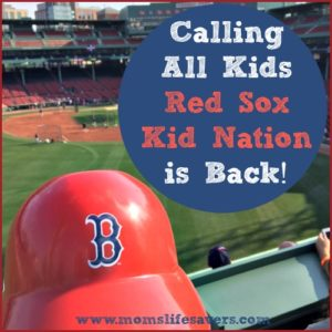 Red Sox Kid Nation Calling All Kids 2017