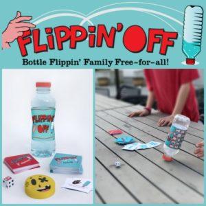 New to Kickstarter Bottle Flipping Game Flippin' Off