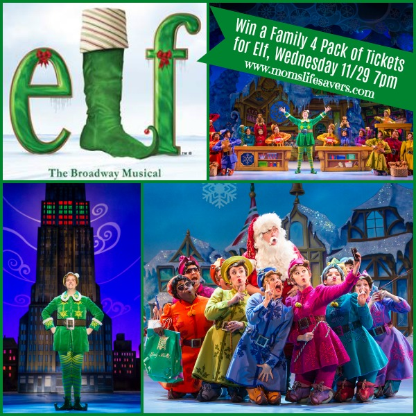 Elf the Musical Mom's Lifesavers Ticket GIveaway